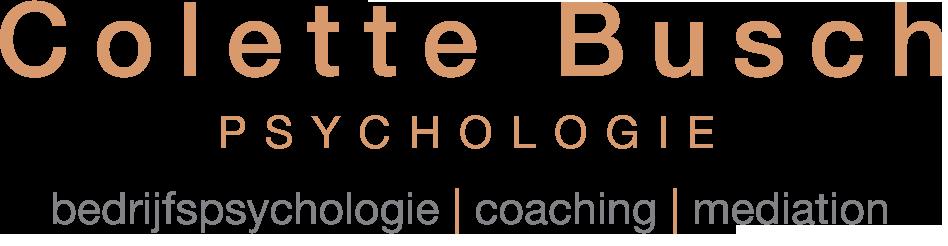 Colette Busch Psychologie bedrijfspsychologie | coaching | mediation | Den Haag